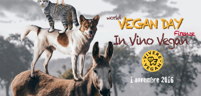 World Vegan Day Firenze – In Vino Vegan