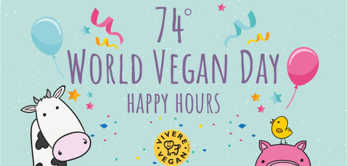 World Vegan Day 2018 – Happy Hours