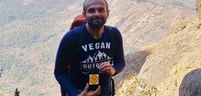 Lo scalatore vegano KUNTAL JOISHER