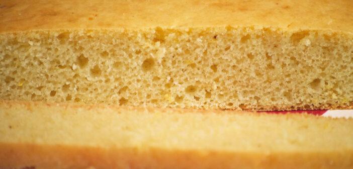 Pan di Spagna vegan facile (col trucco)