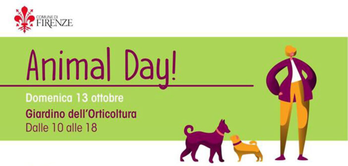 Firenze Animal Day 2019 – 13 ottobre