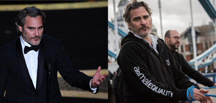 Il discorso di Joaquin Phoenix, vincitore dell'Oscar come migliore attore