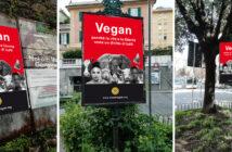 manifesti antispecisti Genova